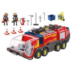 Set Playmobil City Action - Masina De Pompieri A Aeroportului 5337