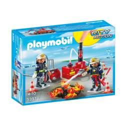 Set Playmobil City Action - Operatiunea Pompierilor 5397