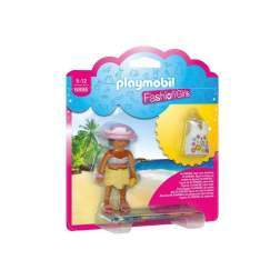 Set Playmobil City Life - Fetita In Tinuta De Plaja 6886