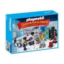 Set Playmobil Craciun - Calendar Craciun - Operatiunea Politiei 9007