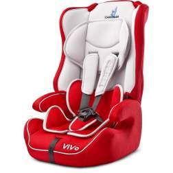 Scaun auto Caretero VIVO, 9-36 Kg, Red
