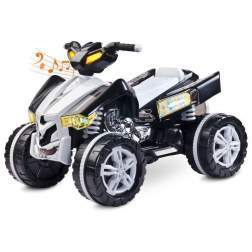 ATV electric Toyz RAPTOR 2x6V Black