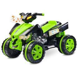 ATV electric Toyz RAPTOR 2x6V Green