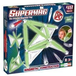 Set Constructie Supermag Luminos 48 Piese