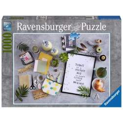 Puzzle Ravensburger - Start Living Your Dream, 1.000 piese (19829)