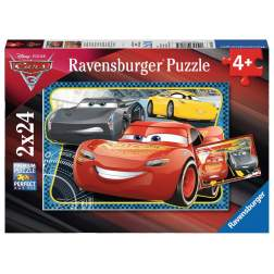 Puzzle Ravensburger - Cars, 2x24 piese (07816)
