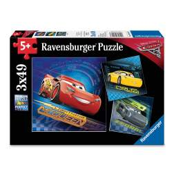 Puzzle Ravensburger - Cars, 3x49 piese (08026)