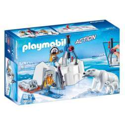 Set Playmobil Action - Cercetatori Si Ursi Polari 9056