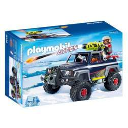 Set Playmobil Action - Piratii Arctici Si Camion De Zapada 9059
