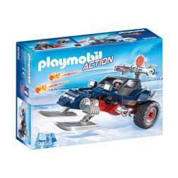 Set Playmobil Action - Piratul Arctic Cu Snowmobil 9058