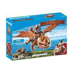 Set Playmobil Dragons - Fishlegs Si Meatlug 9460