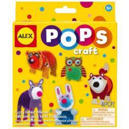 Pops Craft Amicii Din Padure - Alextoys AX1304-5