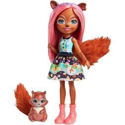 Enchantimals Sancha Squirrel Doll FMT61