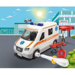 Masinuta Junior Kit Revell - Ambulanta RV0806