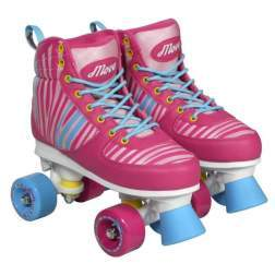 Patine Cu Rotile Power Pink Mas 33/34
