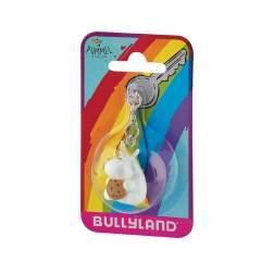 Figurina Bullyland - Breloc Unicornul Dolofan cu prajiturica