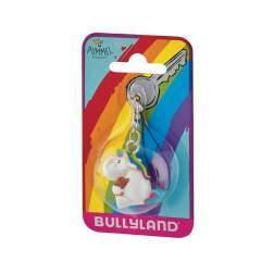 Figurina Bullyland - Breloc Unicornul Dolofan cu ursulet