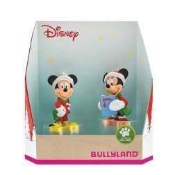 Set figurine Bullyland - Minnie si Mickey Craciun