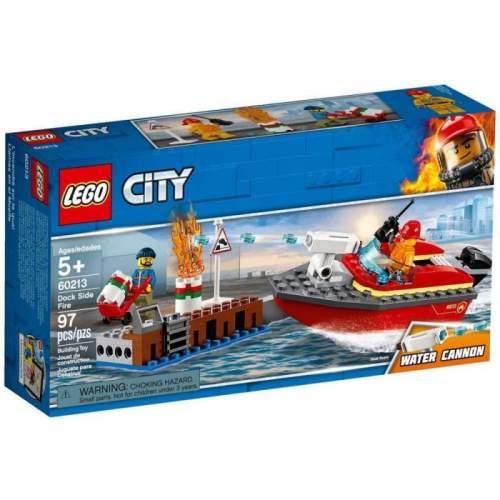 LEGO Incendiul De La Docuri - LEGO 60213 (City)