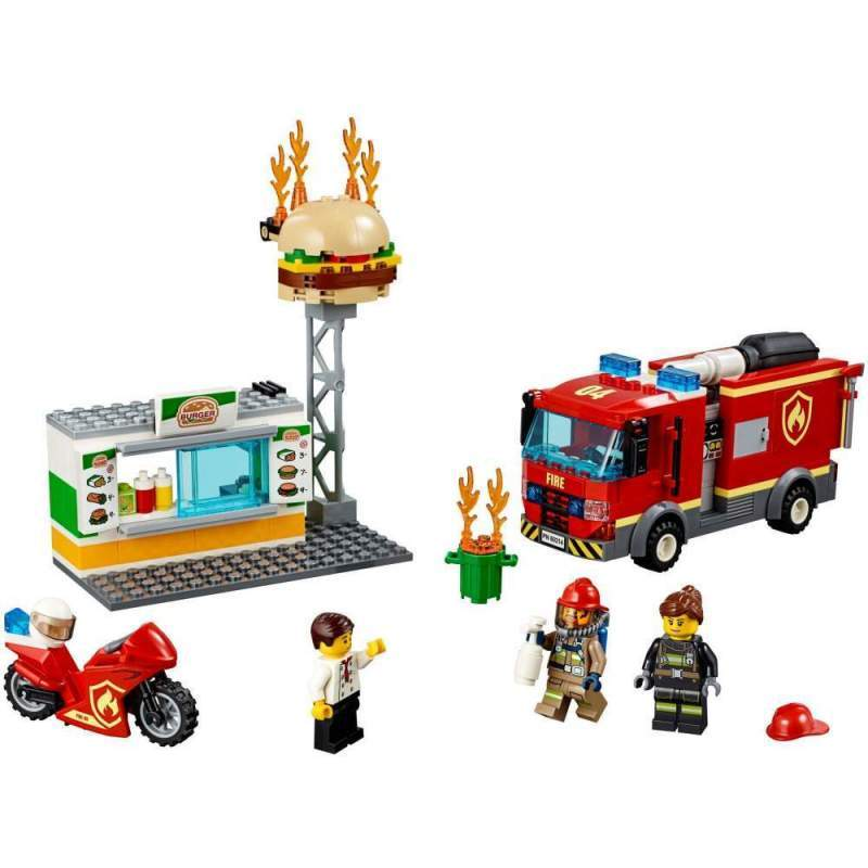 LEGO Stingerea Incendiului De La Burger Bar - LEGO 60214 (City)