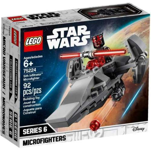 LEGO Sith Infiltrator Microfighter - LEGO 75224 (Star Wars)