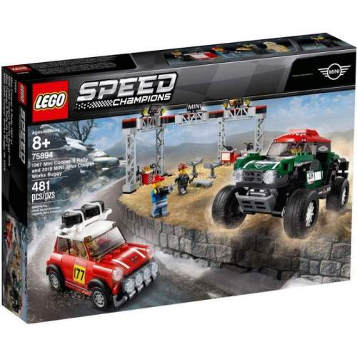 LEGO 1967 Mini Cooper S Rally Si Automobil Sport 2018 Mini John Coope - LEGO 75894 (Speed Champions)