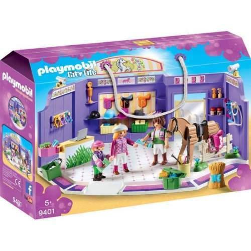Set Playmobil City Life - Magazin De Accesorii Pentru Caluti 9401