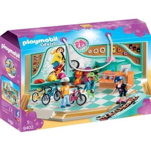 Set Playmobil City Life - Magazin De Biciclete Si Skatebord 9402