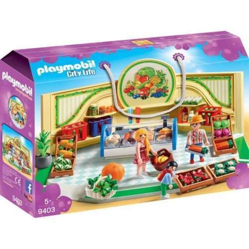 Set Playmobil City Life - Magazin Produse Alimentare 9403