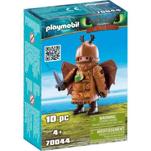 Set Playmobil Dragons - Fishleg In Costum De Zbor 70044