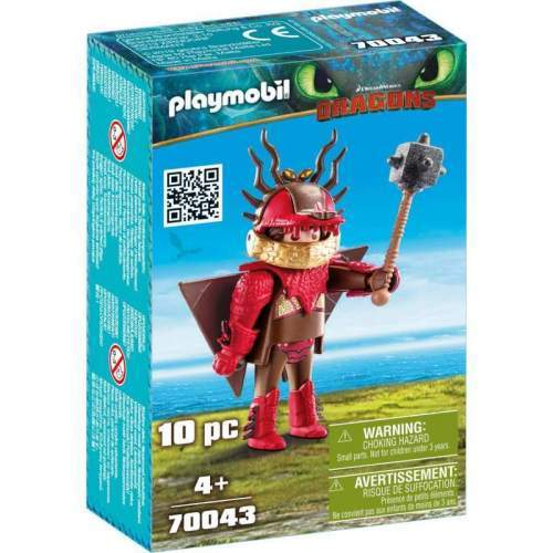 Set Playmobil Dragons - Snotlout In Costum De Zbor 70043