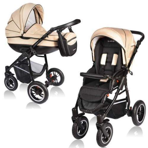 Carucior Crooner 2 in 1 - Vessanti - Cream