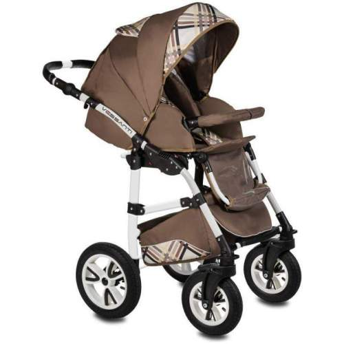 Carucior Flamingo Easy Drive 3 in 1 - Vessanti - Brown