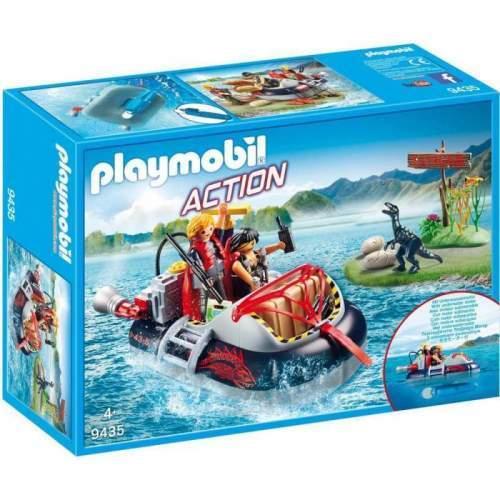 Set Playmobil Action - Ambarcatiune Acvatica Cu Motor 9435