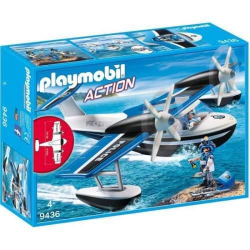 Set Playmobil Action - Hidroavionul Politiei 9436
