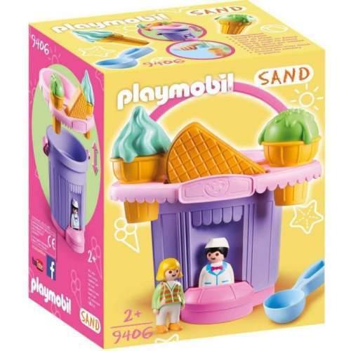 Set Playmobil Diverse - Jucarie Pentru Nisip - Galeata Inghetata 9406