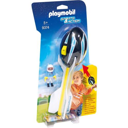 Set Playmobil Sports & Action - Aparat De Zbor 9374