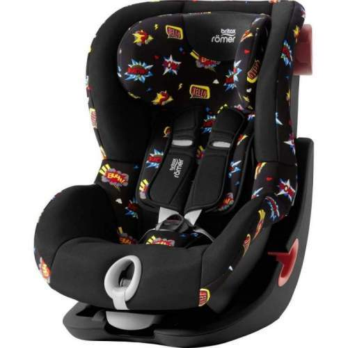 Scaun Auto Britax-Romer KING II - Black Series Comic Fun