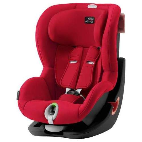Scaun Auto Britax-Romer KING II LS - BLACK SERIES Fire Red