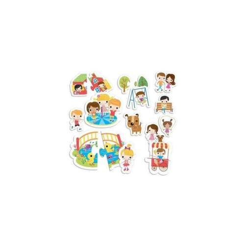 Montessori Puzzle Parc - Potriveste Piesele