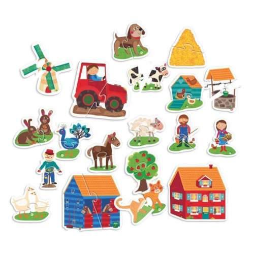 Primul Meu Puzzle Montessori Atinge