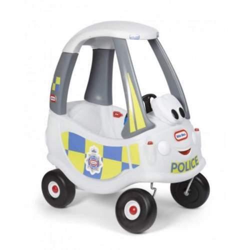 Masinuta De Politie Alba Cozy Coupe