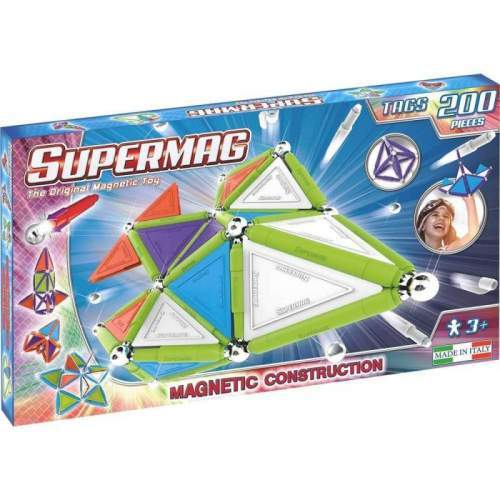 Set Constructie Supermag - Tags Trendy 200 piese