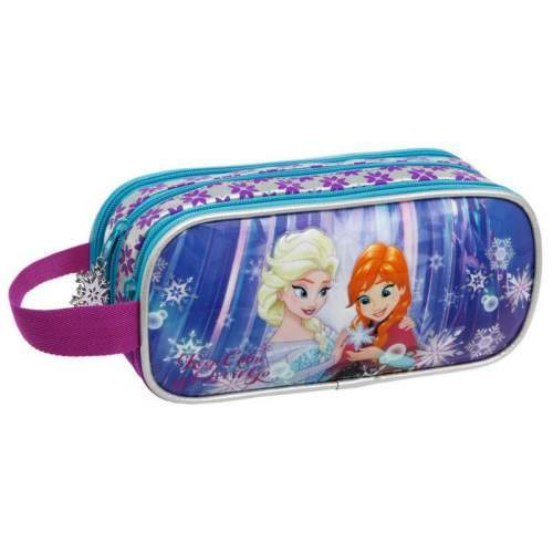Borseta 22 cm 3 compartimente Frozen Keep Calm