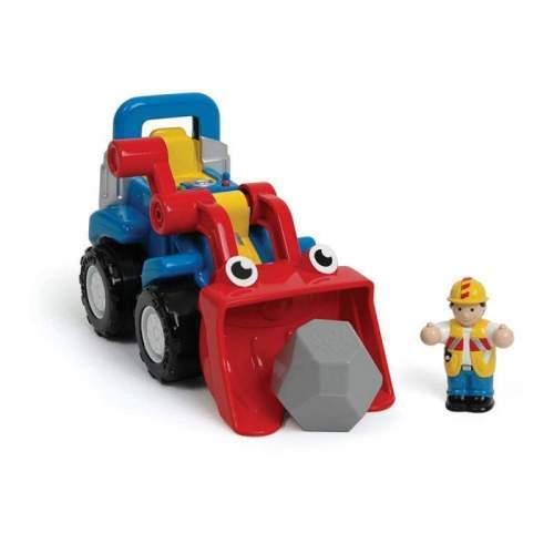 Jucarie WOW Toys - Buldozer Luke, fara baterii