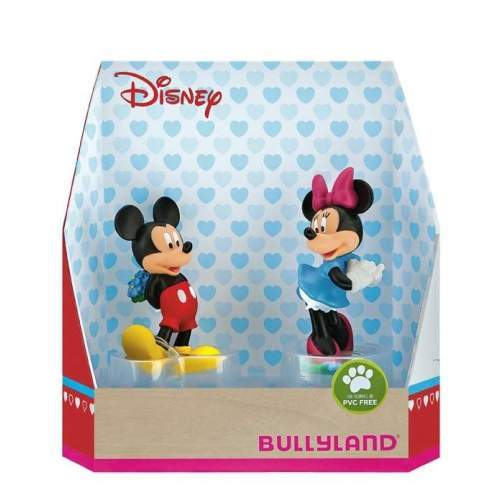 Set figurine Bullyland - Minnie si Mickey Love