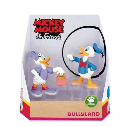 Set figurine Bullyland - Daisy si Donald