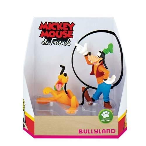 Set figurine Bullyland - Pluto si Goofy