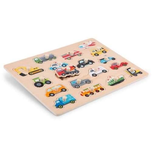 Puzzle lemn Vehicule