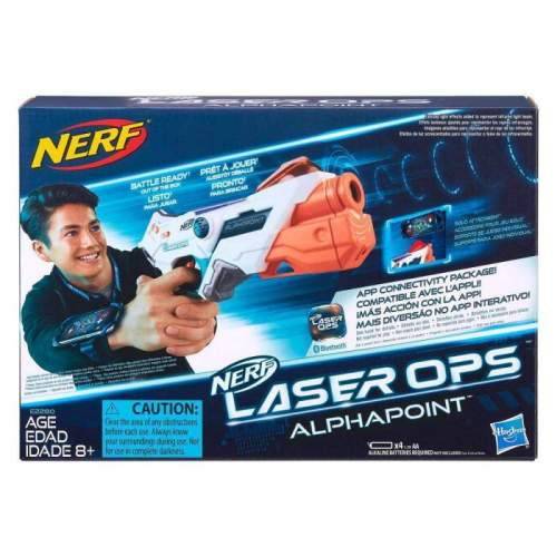 HASBRO Blaster NERF Laser Ops Single Shot
